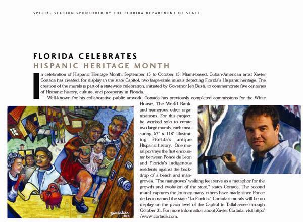 Florida Celebrates Hispanic Heritage Month -- An Article